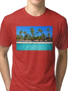 Postcard from Punta Cana, The Dominican Republic Tri-blend T-Shirt