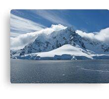 Antarctic Mountain Canvas Print