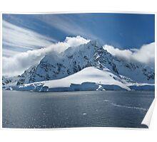 Antarctic Mountain Poster