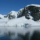 Antarctic Mountain by Craig Baron