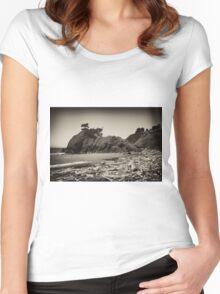 Battle Rock Women's Fitted Scoop T-Shirt