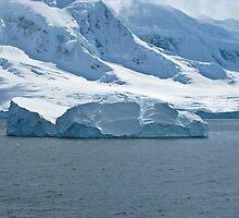 Antarctic Berg by Craig Baron