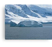 Antarctic Berg Canvas Print