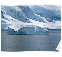 Antarctic Berg Poster