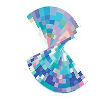 Twisted pixels Photographic Print