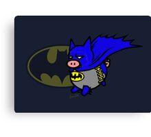 Batpig! Canvas Print