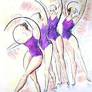 Pastel Ballet Movement by LucyOlver