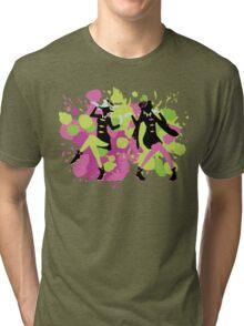 Splatfest Explosion Girls!  Tri-blend T-Shirt