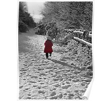 little red coat Poster