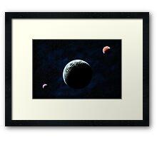 Enticing Planet Arcadia Framed Print
