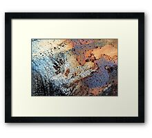 The Paw Print Framed Print