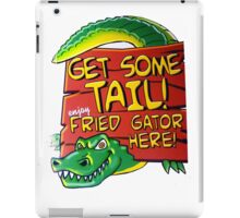Fried Gator Tail iPad Case/Skin