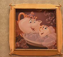 Disney Beauty and the Beast MRS. POTTS & CHIP by notheothereye