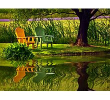 Come Sit With Me Photographic Print