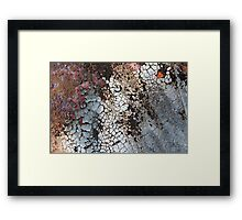 Set Asunder Framed Print