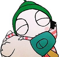 Sarah and Duck by davis91