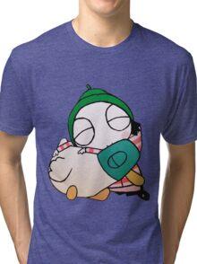 Sarah and Duck Tri-blend T-Shirt