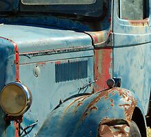 Rusty Blue | Melrose, SA by Alison Badgery