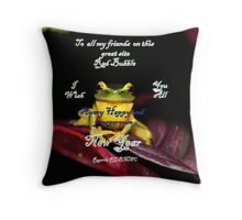 Wishing you all Throw Pillow