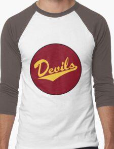 Retro Arizona State University Sun Devils Men's Baseball ¾ T-Shirt