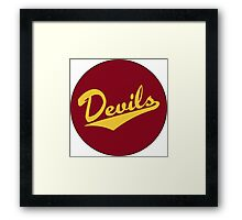 Retro Arizona State University Sun Devils Framed Print