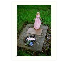 Baby Evelyn's Grave Art Print