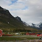 Olderdalen from the ferry. by ellismorleyphto