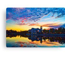 Celebration, Florida and the Grand Bohemian Hotel Canvas Print