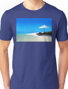 Postcard from Anse Lazio beach at Praslin island, Seychelles Unisex T-Shirt