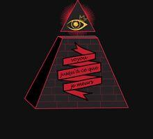 Gangster Eye Pyramid   Unisex T-Shirt