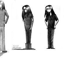 Rag Doll Type O Negative by Hannah Christine Nicholson