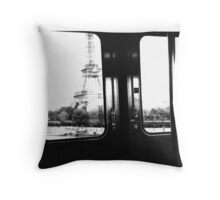Eiffel Tower Dream Throw Pillow
