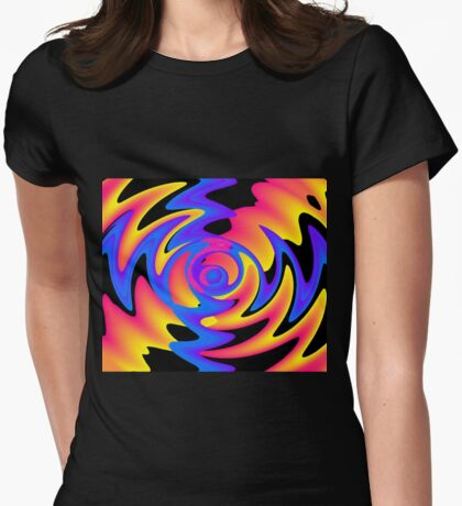 Power Surge Womens Fitted T-Shirt