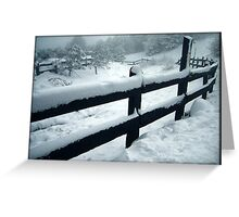 Winter Mystery Greeting Card