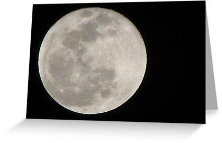 New Year Blue Moon by Kimberly Chadwick