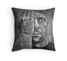 The Ghosts That Haunt Me Throw Pillow