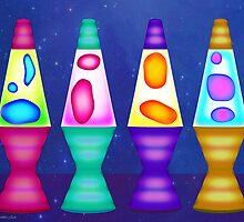 Lava Lamps by Mystikka