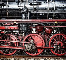 Details Of An Steam Locomotive P 8 by novopics