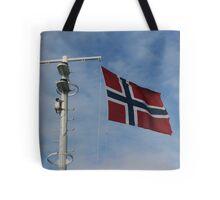 Ja, vi elsker dette landet - Yes, we love this land Tote Bag