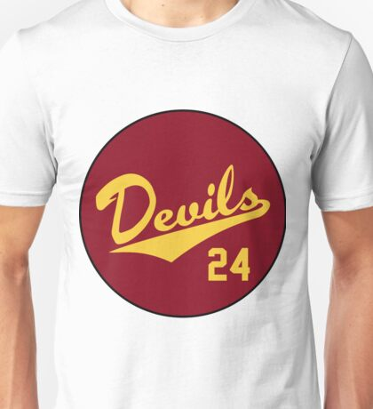 Retro Arizona State University Sun Devils Barry Bonds #24 Unisex T-Shirt