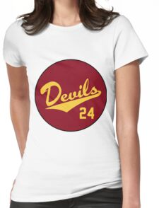 Retro Arizona State University Sun Devils Barry Bonds #24 Womens Fitted T-Shirt