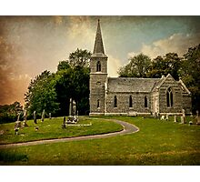 Church of St Nicholas (Texture Version) Photographic Print