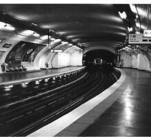 Vavin Metro Station Paris by Gordon Lukesh