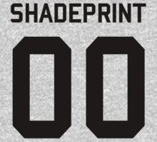Shadeprint.   Official Numbers. [Inverse] One Piece - Long Sleeve