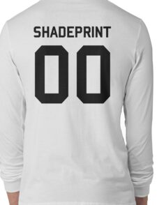 Shadeprint. | Official Numbers. [Inverse] Long Sleeve T-Shirt