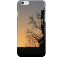Another January morning begins iPhone Case/Skin