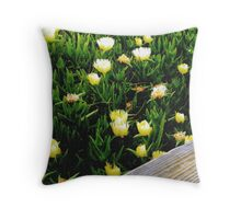 Flowers and Sunshine Throw Pillow