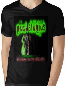 Pool Studios Logo ft. The Flood Mens V-Neck T-Shirt
