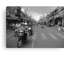 From the Mekong Canvas Print