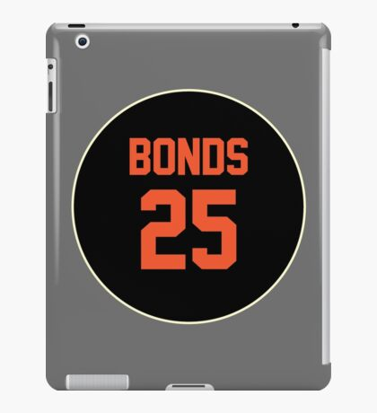 San Francisco Giants Barry Bonds #25 back iPad Case/Skin